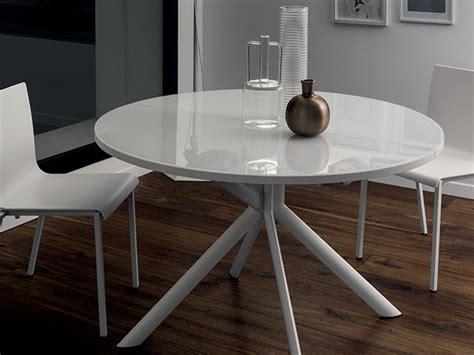 scavolini tavoli tavolo scavolini hover rotondi rotondi allungabili vetro