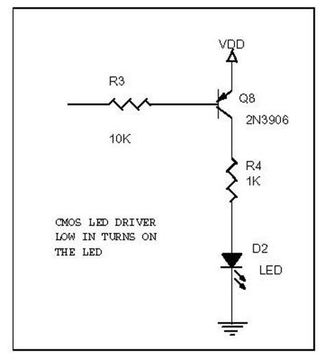 2 transistor led driver index of slotinfo techstuff cd2 diodes and transistors opto and led leds