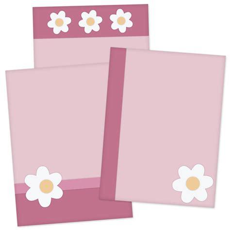 flower card template card template pack 1 digital card