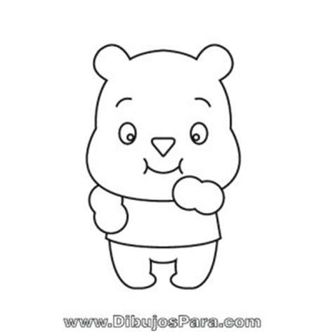 imagenes de ositos tiernos para dibujar a lapiz dibujo de osito tierno dibujos de osos para pintar