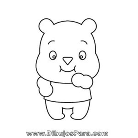imagenes para colorear ositos dibujo de osito tierno dibujos de osos para pintar