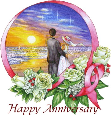 Happy Wedding Anniversary Animated Gif by Happy Anniversary 187 Free Animations Animated Gifs