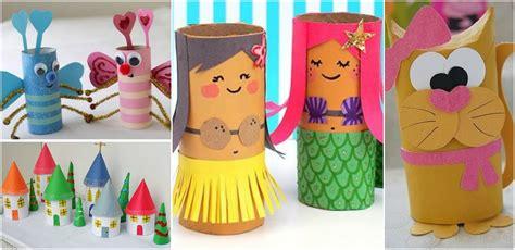 ideas para hacer manualidades con ni os usando palitos de helado 13 manualidades para hacer con ni 241 os reciclando tubos de