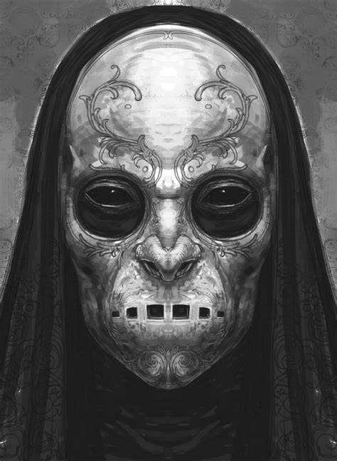 Death Eater mask by Rob Bliss | материал | Pinterest