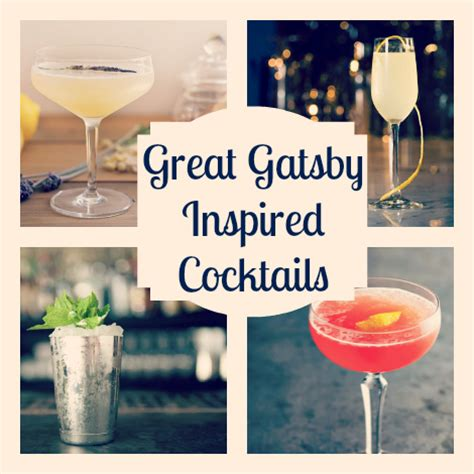 great cocktails great gatsby inspired cocktails what the flicka