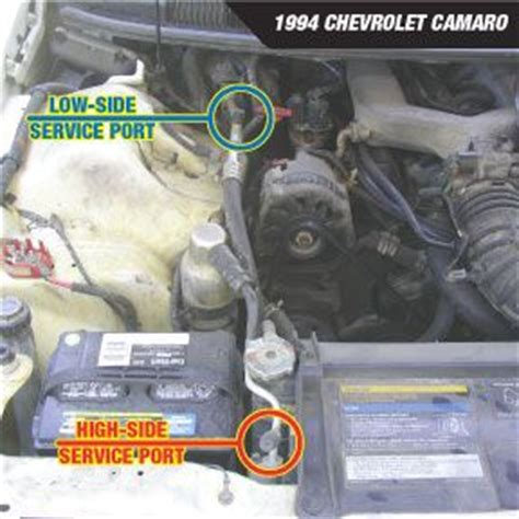Service Manual How To Add Freon To 1994 Chevrolet Lumina