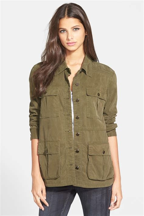 Khaki Jacket kate moss in a khaki jacket and as she takes