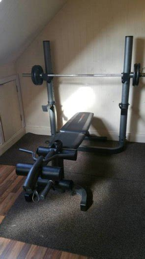 weider 490 dc bench weider pro 490 dc squat rack and bench for sale in ardee