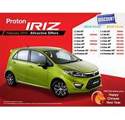 Proton Iriz CNY Discounts – Offers Of Up To RM7988 Off