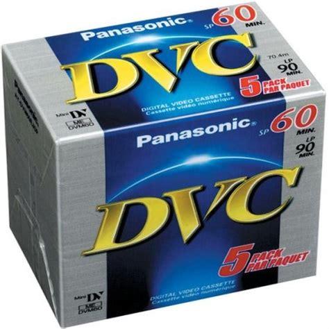 Promo Panasonic Mini Dv 90 Min Dvm 60 Murah Bagus panasonic dvm60 mini dv 5 pack pro mini dv mini dv 60 malelo