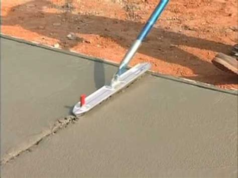 Concrete Floor Tools by Concrete Groover Video Concretenetwork