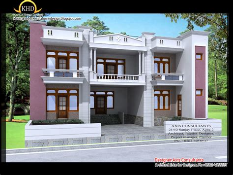 home design beautiful house elevations small house