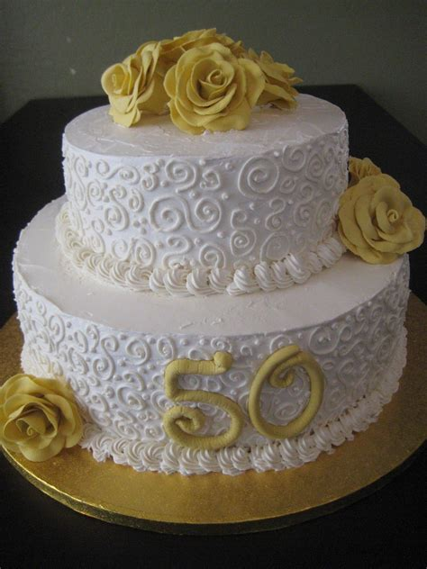 50th wedding anniversary cakes   Posted by thenaughtytarte