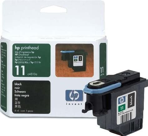 Tinta Hp 11 Printhead Colour Original hp hewlett packard c4810a model no 11 black printhead cleaner for use with business inkjet 1000