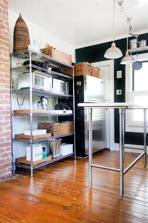 metal shelves for kitchen best 25 metal shelving ideas on metal shelves