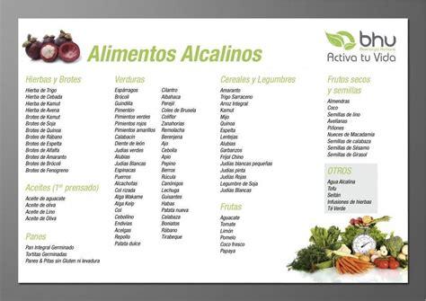 alimentos alcalinos tabla tabla de los alimentos alcalinos y 193 cidos