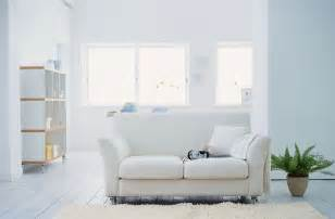 simple interior ideas with white sofa