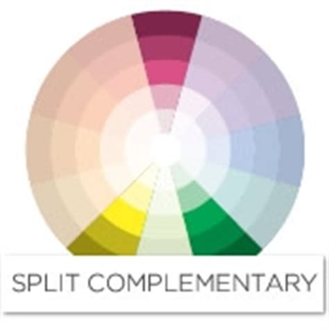 complimenting colors for pink color story decorating with pink split complementary