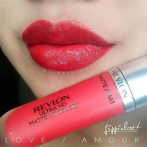 matte lip color revlon ultra hd matte lip color in amour lip color