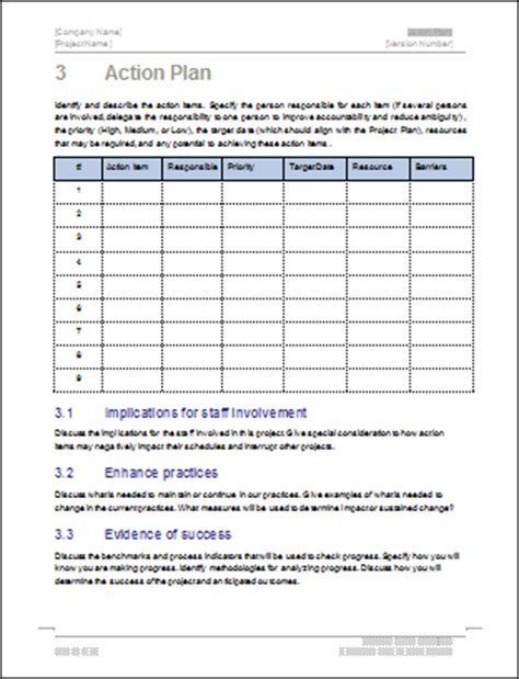written plan template plan how to write