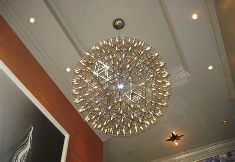 Extra Large Chandeliers Large Modern Sphere Chandeliers Home Design Lover The