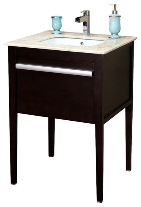 bathroom sink consoles wood bellaterra 26 quot single sink vanity in wood dark mahogany