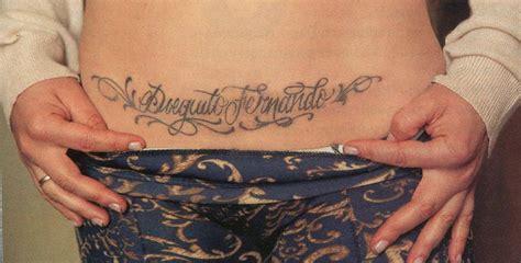 fotos tatuajes zona intima ver 243 nica ojeda se destap 243 pos 243 hot y mostr 243 su tatuaje en