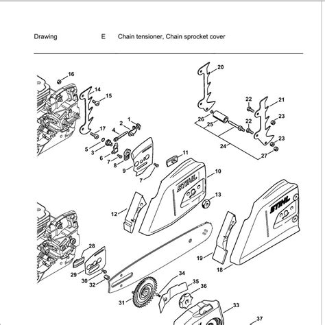 stihl parts diagrams buy a stihl ms362 spare part or replacement part for your