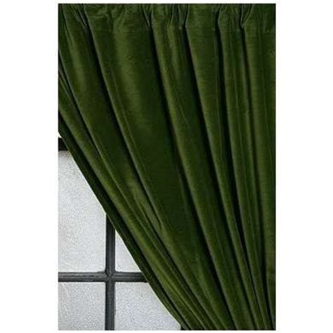 Current Inventory Green Velvet Curtain For The Home