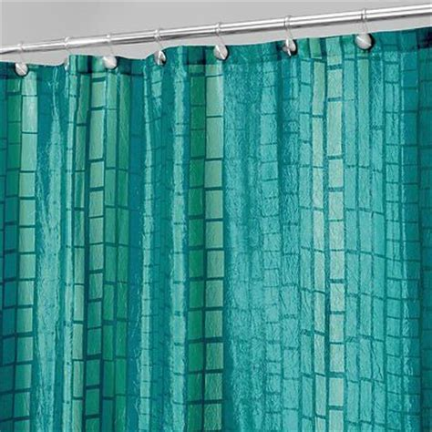teal fabric shower curtain blue polyester teal bathroom accent fabric shower curtain