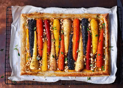 Inspiring Vegan Cooking Blogs by Recipe Vegan Hasselback Vegetable Tart Sainsbury S