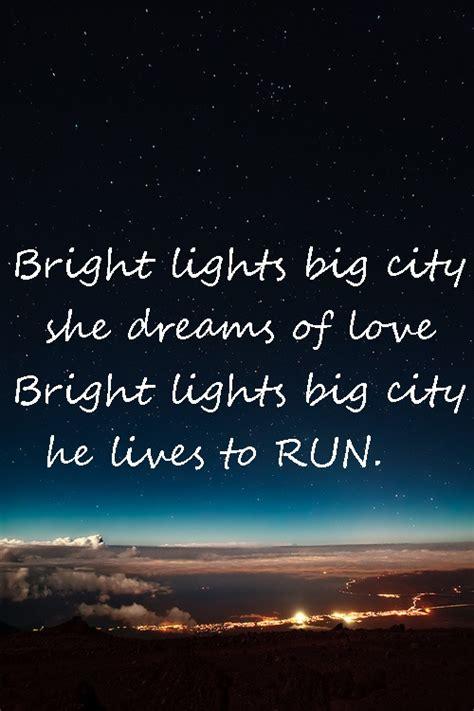 bright lights big city quotes quotesgram