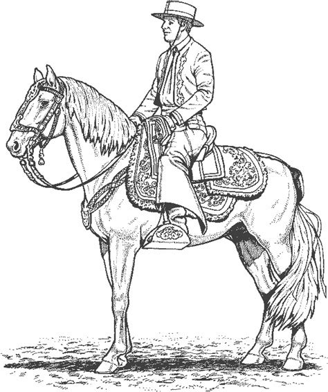 argentina gaucho free coloring pages