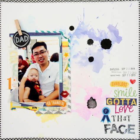 father s day scrapbook layout craft father s day scrapbook pages me my big ideas