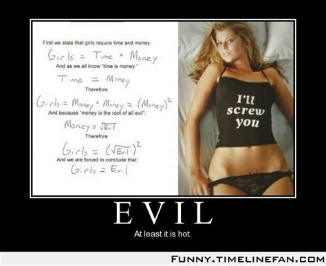 Sexy Wife Meme - evil demotivational poster funny pic memes and jokes