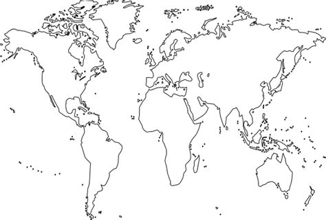 blank world map clip art  clkercom vector clip art