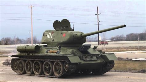 T-34-85 first run - YouTube T 34 American