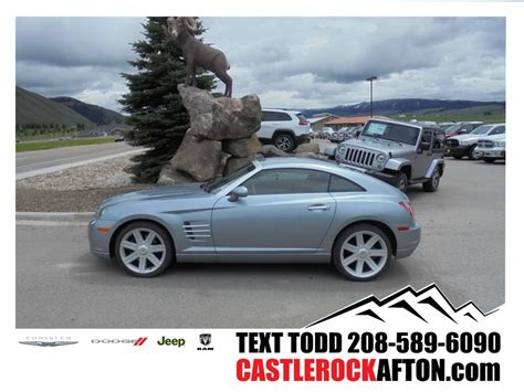 chrysler crossfire automatic chrysler crossfire automatic for sale used cars on
