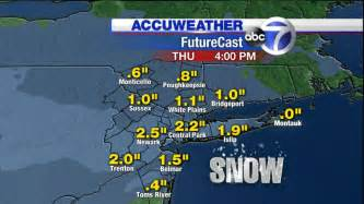 accuweather forecast maps for wednesday s abc7ny