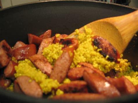 healthy recipes with turkey sausage quinoa with turkey sausage recipe sparkrecipes