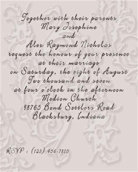 wedding invitation wording for arranged marriage quotes for wedding invitations quotesgram