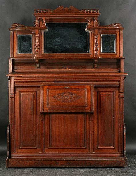 antique murphy bed 257 antique victorian carved walnut murphy bed lot 257