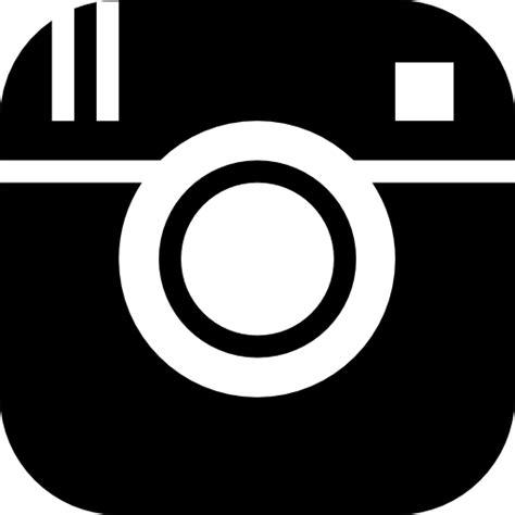icono instagram gratis de social solid