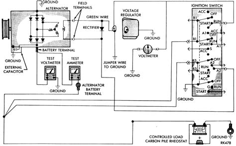 dodge alternator external regulator wiring diagram get