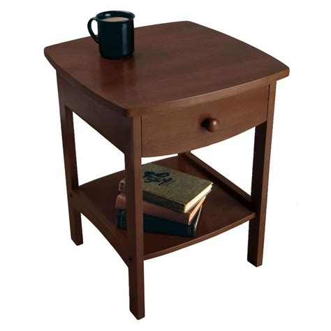 kitchen accent table amazon com winsome wood accent table walnut kitchen
