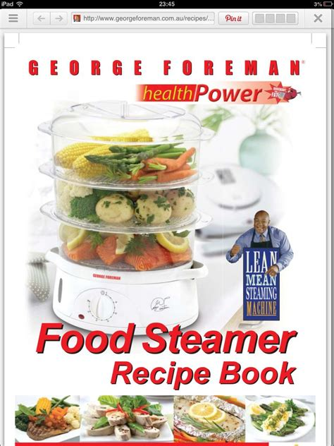 Pdf Chloes Kitchen Delicious Recipes by Recipes For Electric Steamer Http Www Georgeforeman