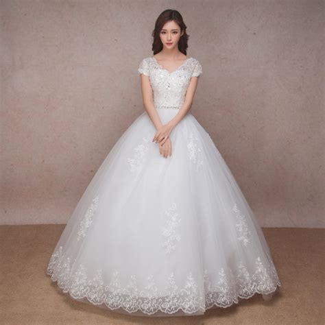 Simple Bridal Gowns by Lace Vintage Wedding Dress 2016 Simple