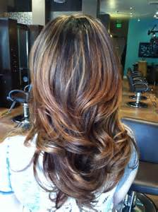 brown hairstyles with parshall highlight partial highlight ombr 233 hair pinterest partial