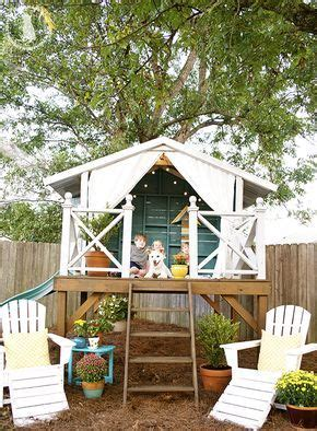 Handmade Home Playhouse - best 25 play houses ideas on shed fort ideas
