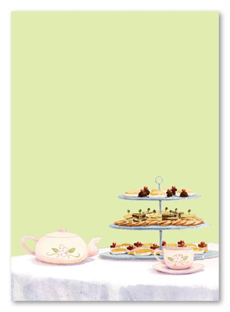 afternoon tea bulk invitations myexpression 8303